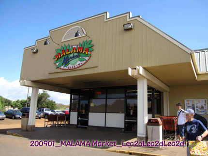 2009年1月 Haleiwa MALAMA Market