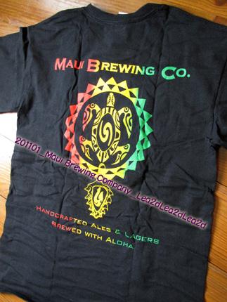 2011年1月 Maui Brewing CompanyのTシャツ&パーカー