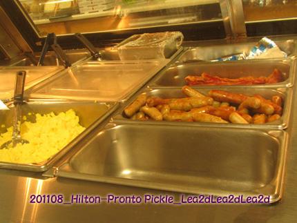 2011年8月 Hilton、pronto pickleの朝食Deliwidth=