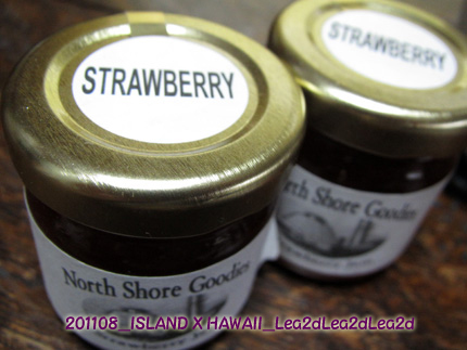 2011年8月 ISLAND X HAWAII Strawberry Jam North Shore Goodies