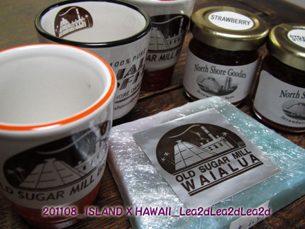 2011年8月 ISLAND X HAWAII Goods