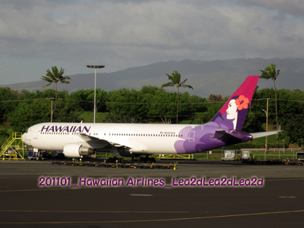 2011年1月 Hawaiian Airlines
