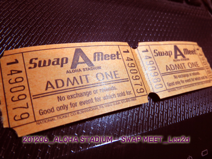 2012年6月 ALOHA STADIUM SWAP MEET
