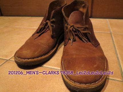 2012年6月 CLARKS(クラークス)DESERT BOOT(デザートブーツ)78358