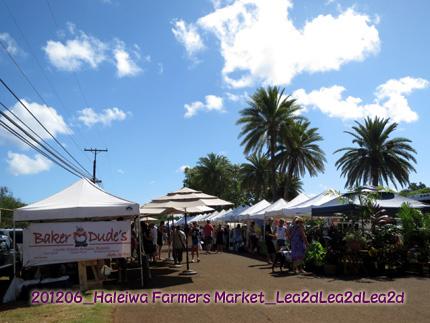 2012年6月 Haleiwa Farmers Market