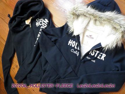 2012年6月 HOLLISTER - FLEECE