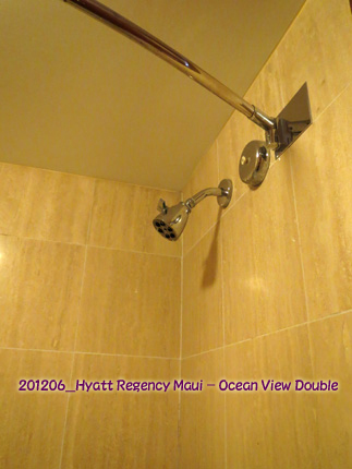 2012年6月 Hyatt Regency Maui Resort & Spa Ocean View Double Bathroom
