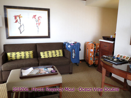 2012年6月 Hyatt Regency Maui Resort & Spa Ocean View Double
