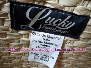 2012年6月 Lucky Brand Jeans Bag