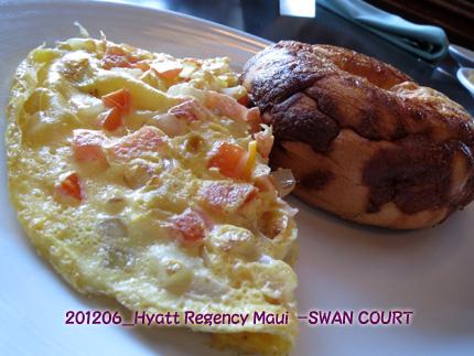 2012年6月 Hyatt Regency Maui Resort & Spa-Swan Court Breakfast_buffet