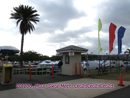 2012年6月 Maui Swap Meet(Kahului)