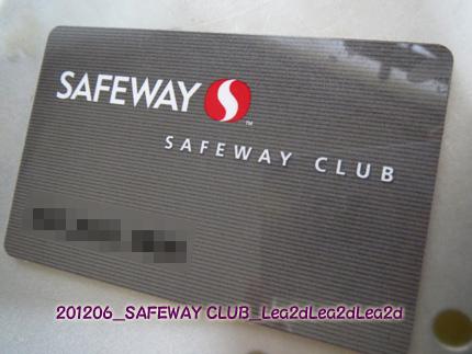 2008年1月 SAFEWAY CLUB