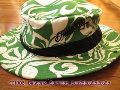 2010年8月 Bilabong Surf Hat