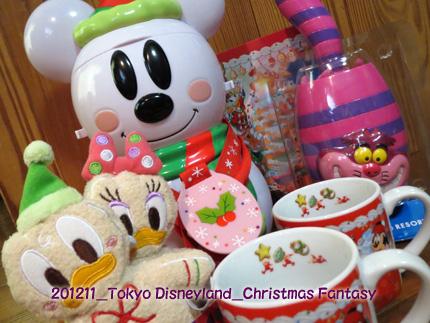 2012年11月 Tokyo Disneyland Christmas Fantasy