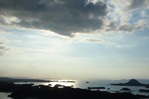 240816 高舞登山夕陽2