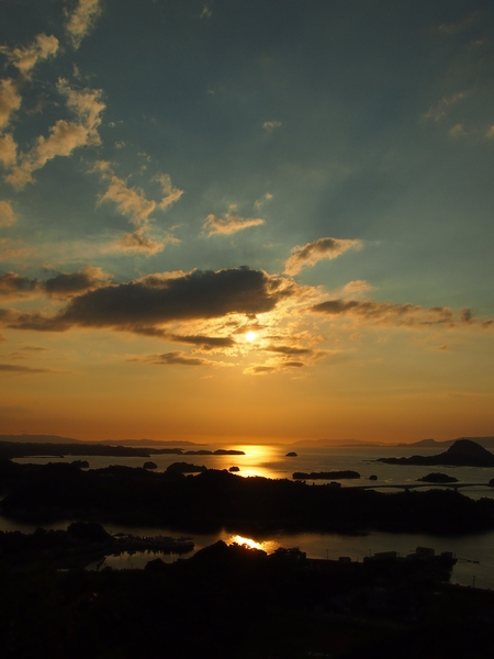 240816 高舞登山夕陽10