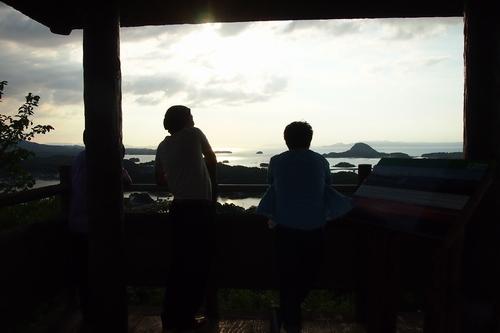 240816 高舞登山夕陽5