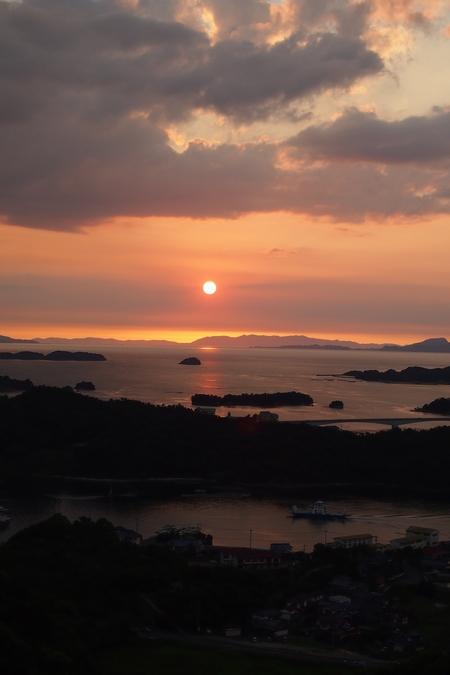 240816 高舞登山夕陽14
