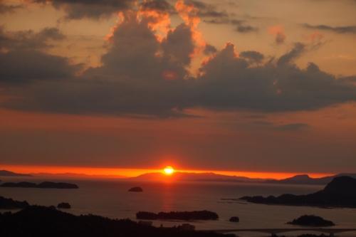 240816 高舞登山夕陽16