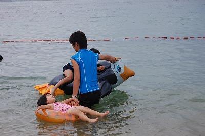 s-海で泳ぐ20120813