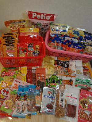 支援物資(イヌおやつ) (1)