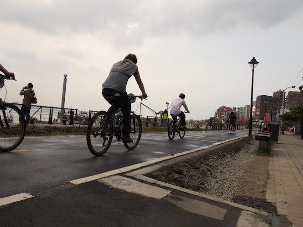 淡水 自転車①