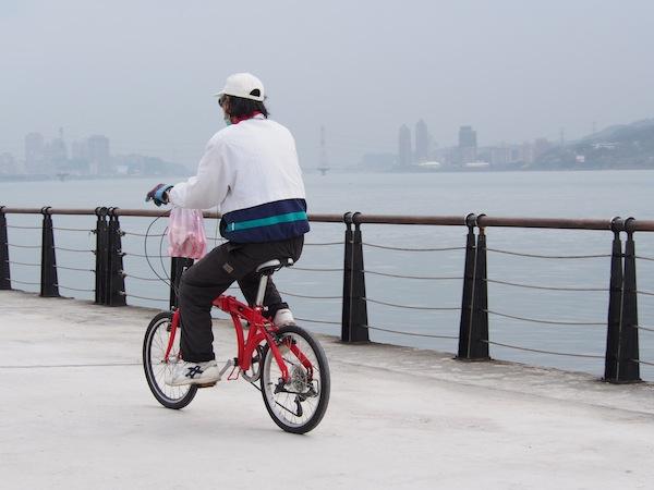 淡水 自転車②