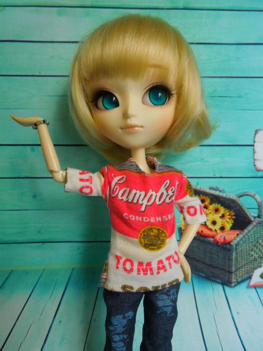 キャンベル缶Tシャツ6