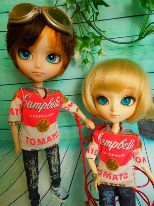 キャンベル缶Tシャツ3