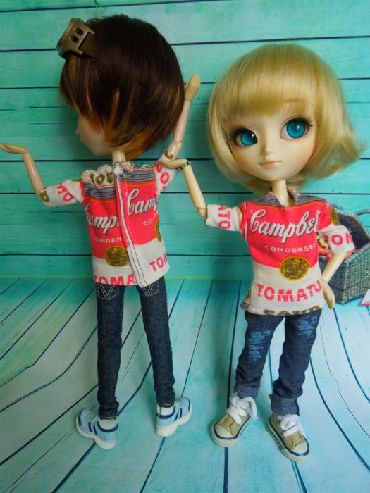 キャンベル缶Tシャツ5