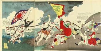 日清 800px-YC58DshC5AB_Chikanobu_Sino-Japanese_War