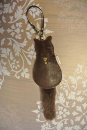 茶革ニャンコリールキー2012.8.9
