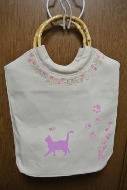 シルクスクリーン猫③2012.11