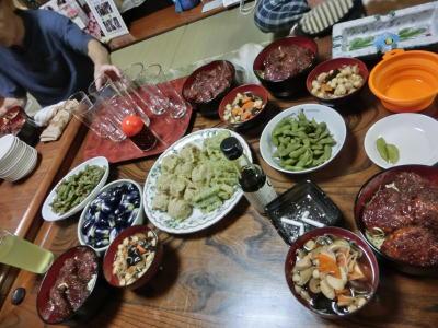 晩御飯 1