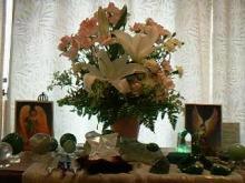 ひかり輝く自然界からのおくりもの-スーザンハート祭壇