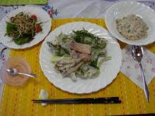 ひかり輝く自然界からのおくりもの-郁ちゃんお料理教室2