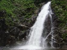 ひかり輝く自然界からのおくりもの-白神山地暗門の滝