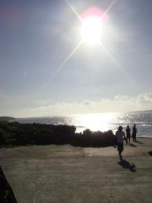 ひかり輝く自然界からのおくりもの-海3