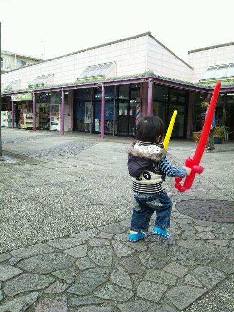 バルーン剣