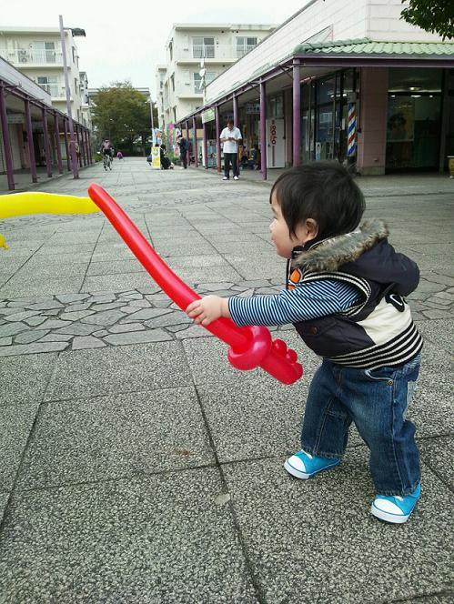 バルーン剣^