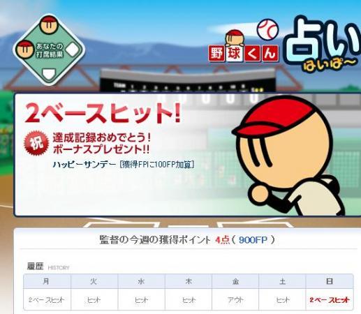 野球くん占い120610