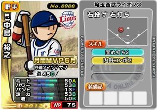 12中島6月MVP