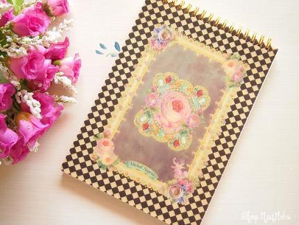 ミハエルネグリン・薔薇とヴィクトリアンのノート