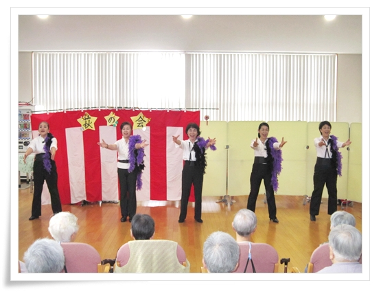 2012/09/17 慰問 NHK1