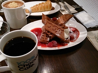 100%チョコレートカフェb