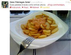 セスク patatas bravas