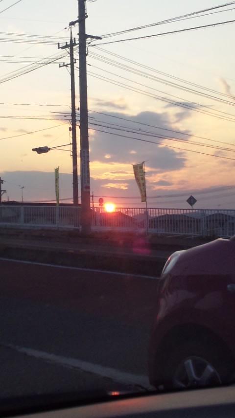2012/06/03夕日