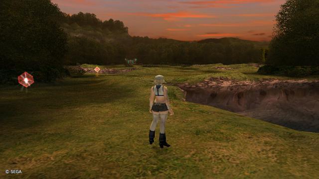 ラフォン草原:湖畔公園
