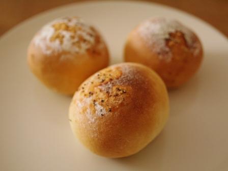 香りソルトでパン