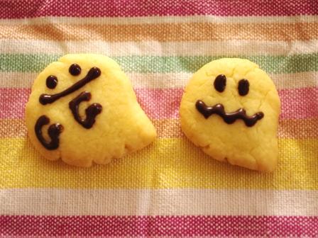 子おばけのジンジャークッキー